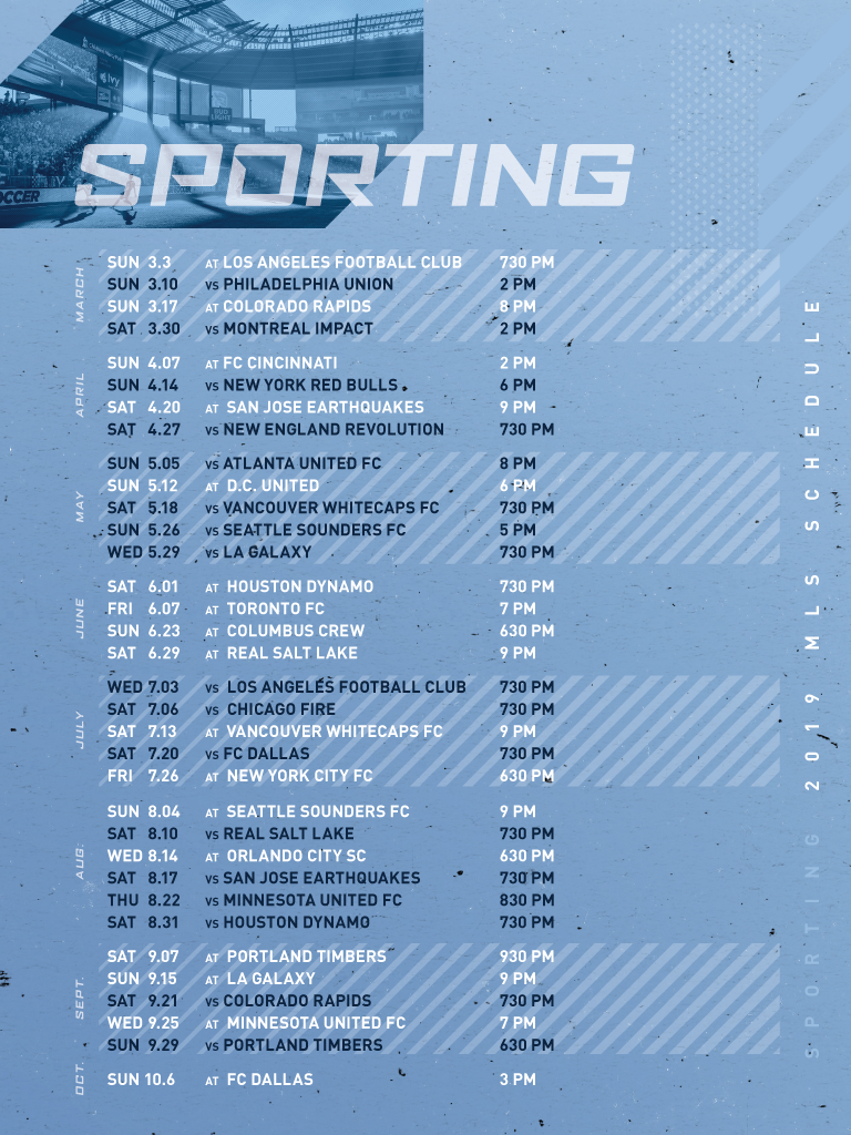 Download 2019 Schedule | Sporting Kansas City