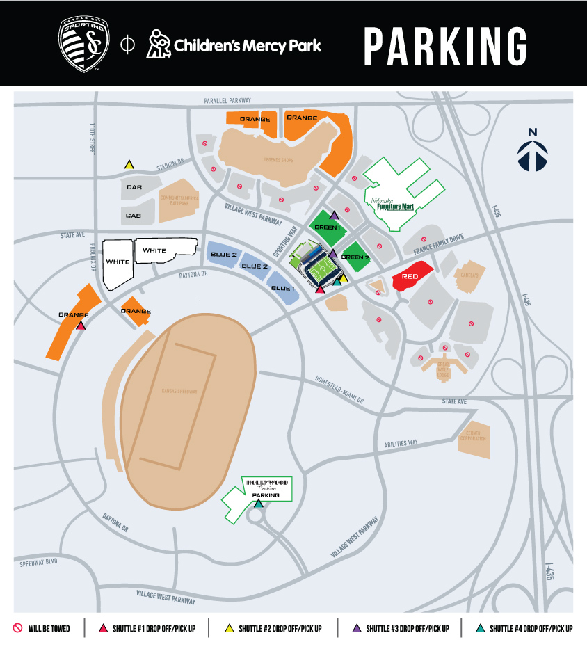 Children\'s Mercy Park Parking | Sporting Kansas City